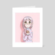 Butter and Love - Art Card by Koraha San