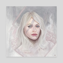 Frost - Canvas by Derrick Villalpando