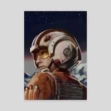 Pilot - Canvas by Alex StG