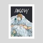 INGOVY cover (Rosana)  - Art Print by Em Niwa