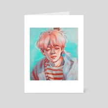 Jimin 'Melancholy' - Art Card by Buhuhu Art