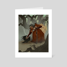 Familiar - Art Card by Abigail Larson
