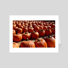 Pumpkin Patch - Art Card by :)