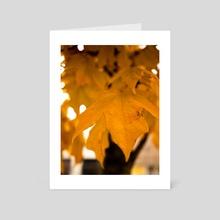Autumn Glow 2 - Art Card by Kristin Elsen