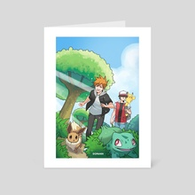 Back to Kanto - Art Card by Janine Berg