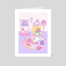 Sanrio Room - Art Card by Ajtuana