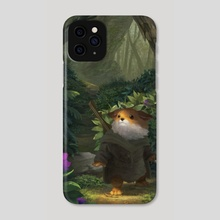 A Small Measure Of Courage - Phone Case by Leesha Hannigan