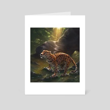 Jaguar - Art Card by Fiona Hsieh