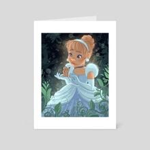Young Cinderella  - Art Card by Danika Capson