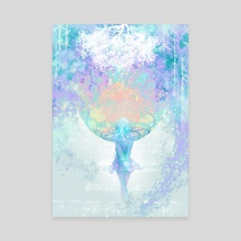 soundless colors - Canvas by Terra Ten