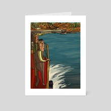 Northern Exposure (Québec, Montreal - Art Card by Esgar