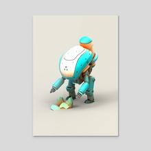 ARC-Robot #40 - Acrylic by Jarlan Perez