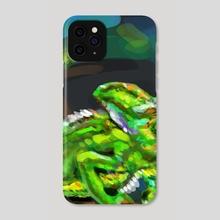 Chameleon  - Phone Case by HYZO