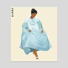 Filipino Cinderella - Canvas by kimoy