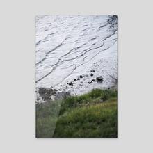 River Bank - Acrylic by Vitali Pikalevsky