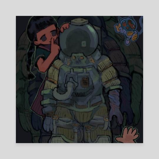 space secret by Plastiboo