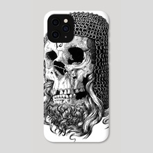 Templar - Phone Case by matthew sergison-main