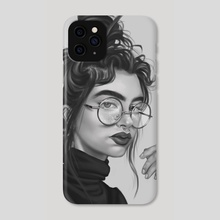 Fashionista - Phone Case by Mujda Hakime
