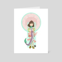 Spirited Away Poster 1 - Art Card by Markie Riley