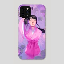 floating butterfly  - Phone Case by rosheruuu