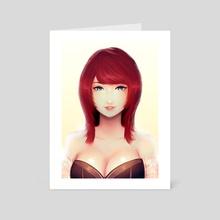Mirei - Art Card by Mihi Art
