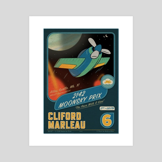 #6 Cliford Marleau - Moonsky Prix by Guthrie Allen