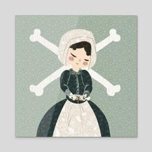 Lorna - Acrylic by Andrea Thompson