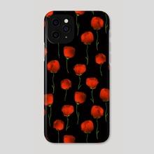Poppy dance - Phone Case by Richard Laschon