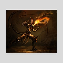 Fire Guard - Canvas by maxetormer