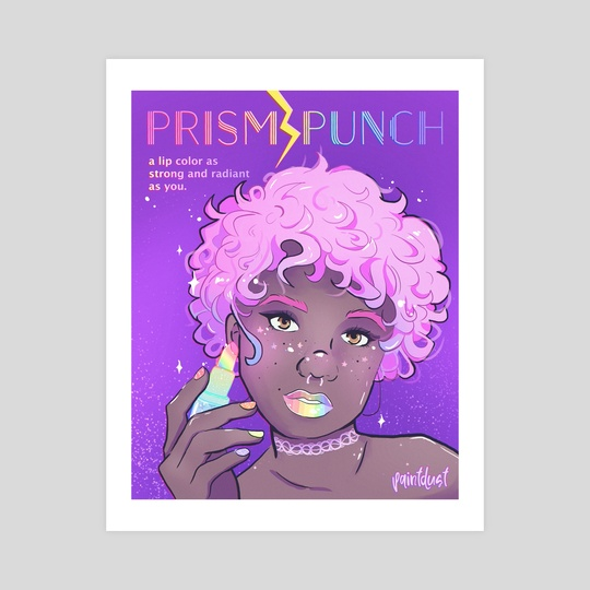 Prism Punch Lipstick by Aly Jones