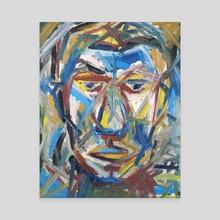 Portrait - Canvas by Paul Filenko