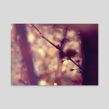 Flowers. V. - Acrylic by minkunoe