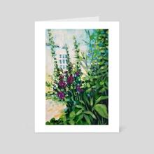 Garden 3 - Art Card by Maddalena Sodo