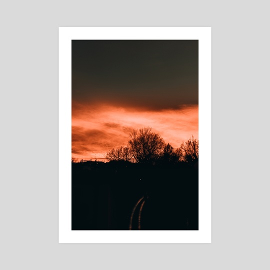 Sunset Sky by Luigi Veggetti