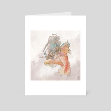 Battlefish - Art Card by Gregory Fromenteau