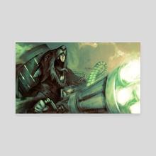 Ratling Gunner - Canvas by Gammatrap