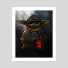 TACTICAL_YODA - Art Print by titiartist