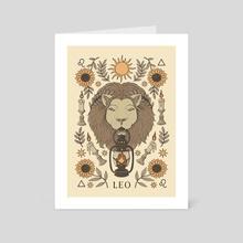 Leo - Art Card by Thiago Corrêa