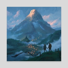 Adam's Peak - Canvas by Matthias Hausmann