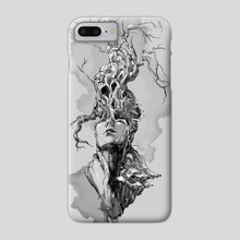 Back to Your Roots - Phone Case by Kate Trish