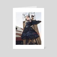 Dark Angel I - Art Card by jammyarts