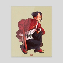 [ naruto ] she's 10/10 - Acrylic by Amelia Simanungkalit