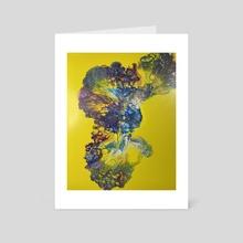 Sunshine Grotto - Art Card by James Pennington