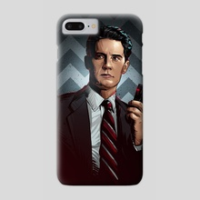 Twin Peaks - Phone Case by Nikita Abakumov