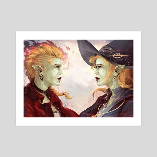 Taako & Lup - Soulmates by Gin