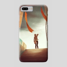 The Outskirts - Phone Case by Guillaume Ospital