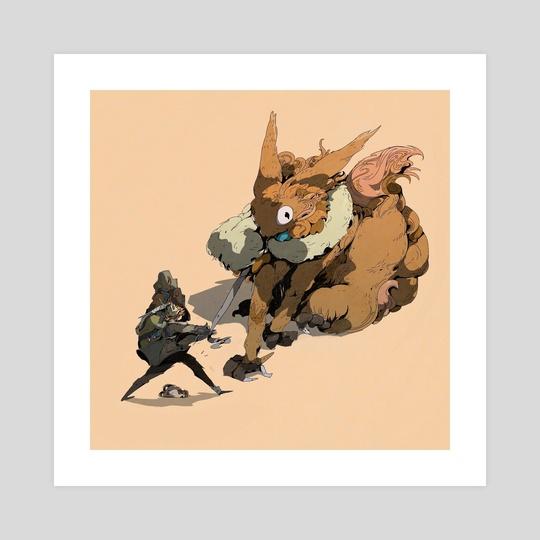 Heavy goods Fox by Vhox