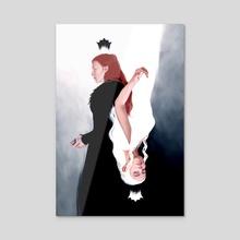 Queen Me - Acrylic by Priscilla Kim