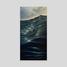 Ophelia - Canvas by Corolyn Holub