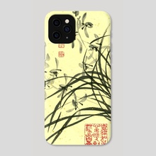 Orchid - 10 - Phone Case by River Han